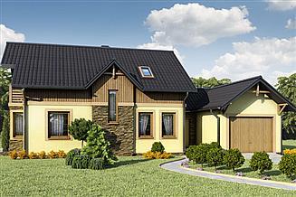 Projekt domu D25 - Bogna