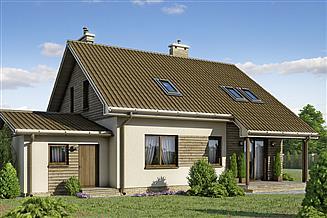 Projekt domu D94 - Januszek