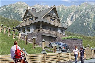 Projekt domu D197 - Grywałd