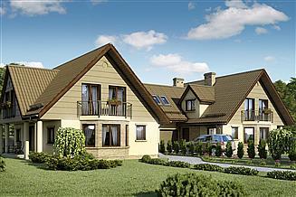 Projekt domu D33 - Bronek