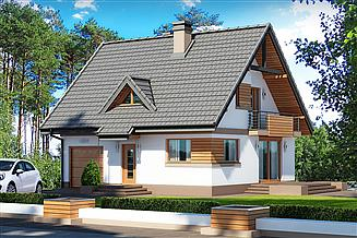 Projekt domu Lolek N