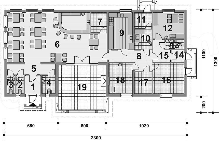 Projekt Restauracji Murator Uc30 Budynek Uslugowy 187 M2 Koszt