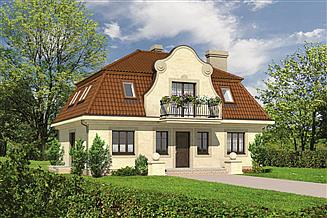 Projekt domu Murator M58 Akacjowa aleja