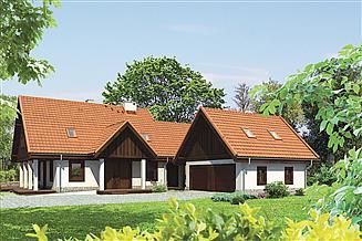 Projekt domu Murator M125a Bocianie gniazdo - wariant I