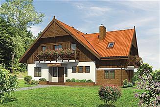 Projekt pensjonatu Murator U22 Budynek agroturystyczny (całoroczny)