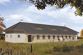 Projekt domu weselnego Murator UC06a Budynek usługowy