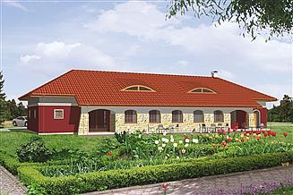 Projekt domu weselnego Murator UC06 Budynek usługowy