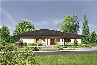 Projekt domu weselnego Murator U02 Budynek usługowy
