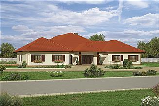 Projekt domu weselnego Murator UC24 Budynek usługowy
