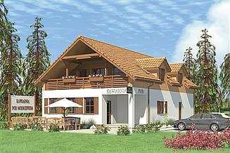 Projekt restauracji Murator UC26 Budynek usługowy