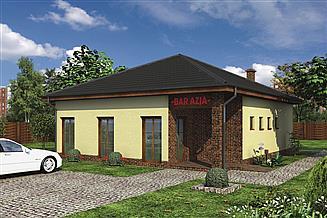Projekt restauracji Murator UC17 Budynek usługowy