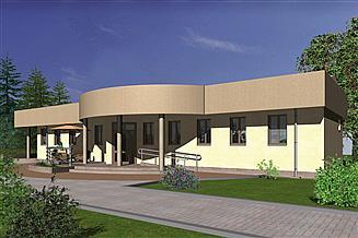 Projekt restauracji Murator UC16 Budynek usługowy