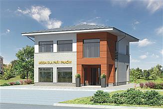 Projekt sklepu Murator U15 Budynek usługowy