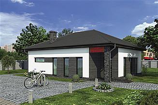Projekt sklepu Murator UC46 Budynek usługowy