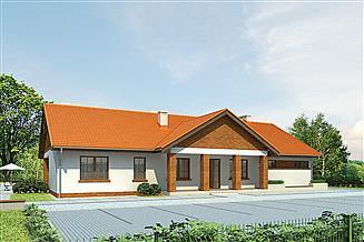 Projekt domu weselnego Murator U26 Budynek usługowy