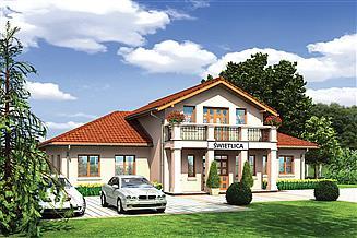 Projekt sklepu Murator UC44 Budynek usługowy