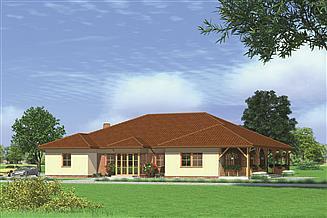 Projekt domu weselnego Murator UC31 Budynek usługowy