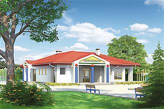 Projekt przedszkola Murator U17 Budynek usługowy (pkt opieki przedszk.)