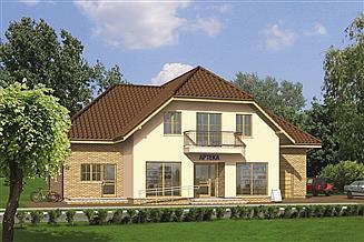 Projekt sklepu Murator UC09 Budynek usługowy z częścią mieszkalną