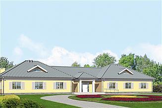 Projekt pensjonatu Murator UC07 Budynek usługowy (z pokojami gościnnymi)
