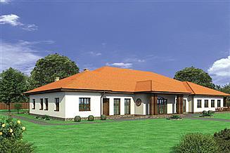 Projekt domu weselnego Murator UC20a Budynek usługowy