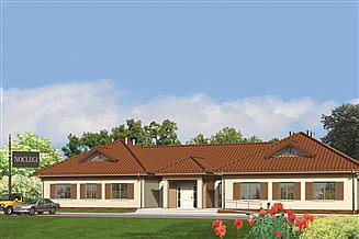 Projekt pensjonatu Murator UC10 Budynek usługowy (z pokojami gościnnymi)
