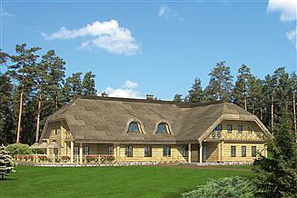 Projekt domu weselnego Murator UC11S Budynek usługowy z pokojami gościnnymi