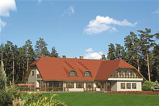 Projekt domu weselnego Murator UC11 Budynek usługowy z pokojami gościnnymi
