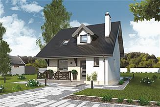 Projekt domu Murator C214 Dom na rozstaju