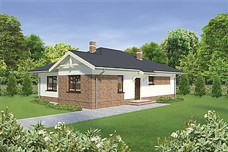 Projekt domu Murator C277 Dom w pobliżu