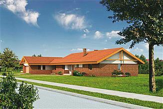 Projekt domu Murator WM11a Jaskółka - wariant I
