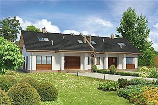 Projekt domu Murator BCC271 Kuszący (bliźniak)