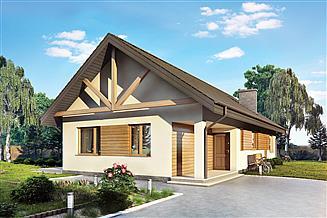 Projekt domu Murator C304b Nieodzowny - wariant II