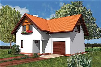 Projekt domu Murator WM02 Orlik (podpiwniczony)