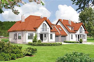 Projekt domu Murator BC01 Pokrewny (bliźniak)