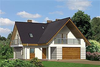 Projekt domu Murator M75a Promień słońca - wariant I