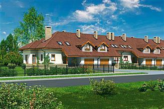 Projekt domu Murator B08a Razem raźniej - wariant I (segment środkowy)