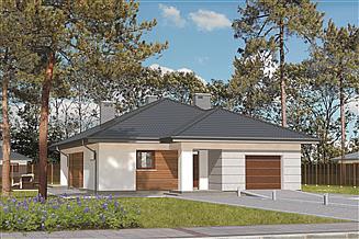 Projekt domu Murator M106 Słoneczna polana