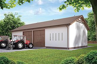 Projekt stodoły Murator IGC09 Stodoła