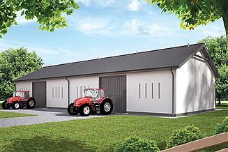 Projekt stodoły Murator IGC10 Stodoła