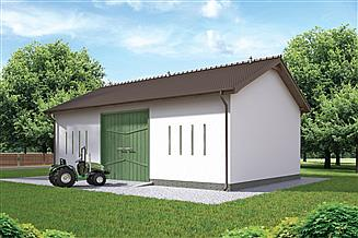 Projekt stodoły Murator IGC11 Stodoła