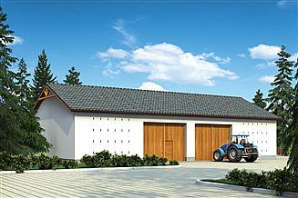 Projekt stodoły Murator IGC12 Stodoła