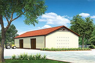 Projekt stodoły Murator IGC14 Stodoła