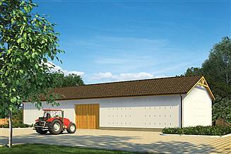 Projekt stodoły Murator IGC13 Stodoła