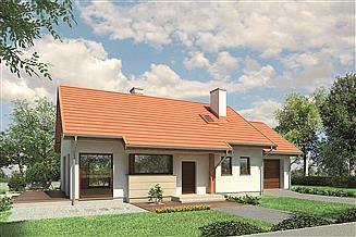 Projekt domu Murator M141 Szum morza