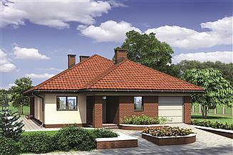 Projekt domu Murator M132 Wariantowy