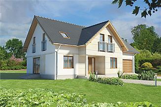 Projekt domu Murator C138a Zadbany - wariant I