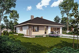 Projekt domu Murator C114b Znany - wariant II