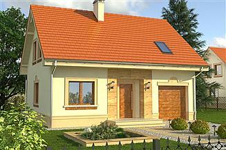 Projekt domu Calvados