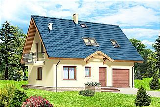 Projekt domu Pauza 2 paliwo stałe